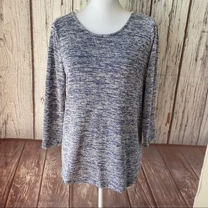 Market and spruce longsleeved tie back sweater XS